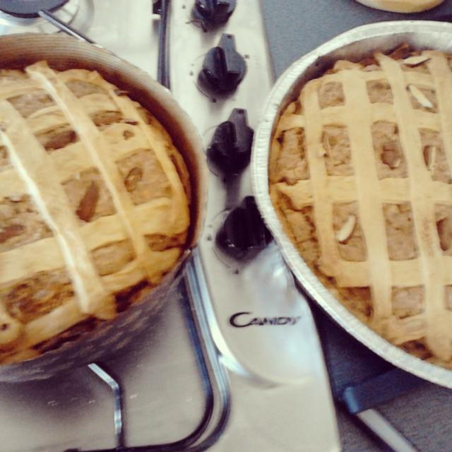 Almond cakes!