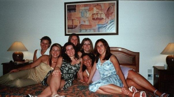 At least 12 years ago. We were all so young and carefree and had no idea at how tough life could be.